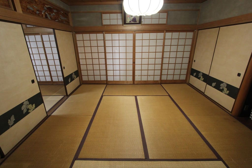 Premium Tatami Room, Only in Iosaka House!!