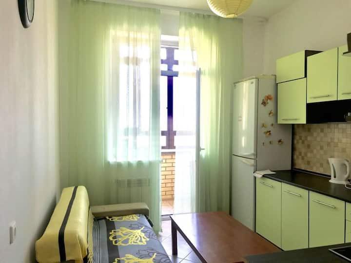 Светлая просторная квартира на Завидной