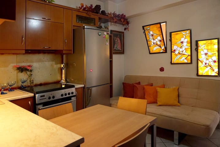 Fully Equipped 30m² Studio, in the Heart of Chania