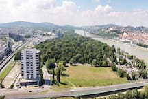 same park from above. by Danube