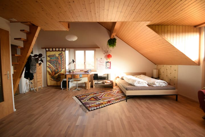 Huge Room for three (or 4 or 5 or 6) - Hombrechtikon - House