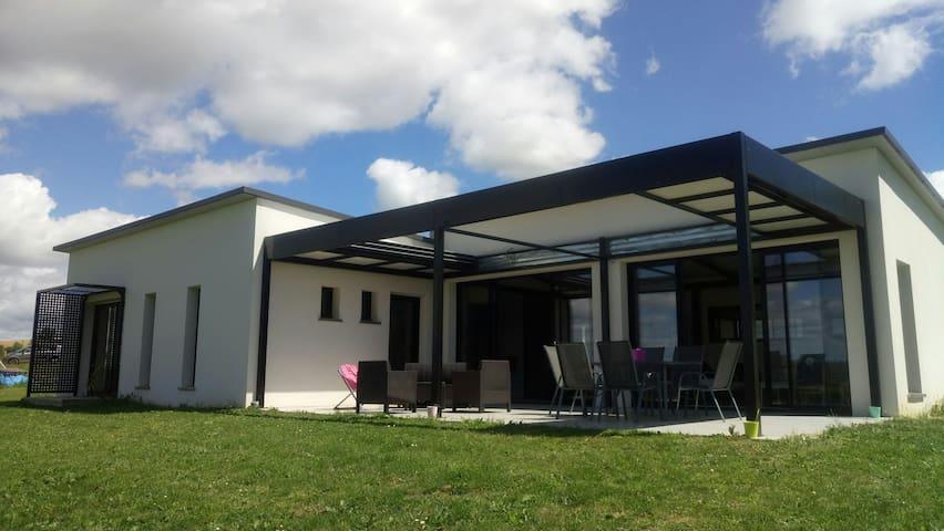 Maison moderne pour vacances paisibles!
