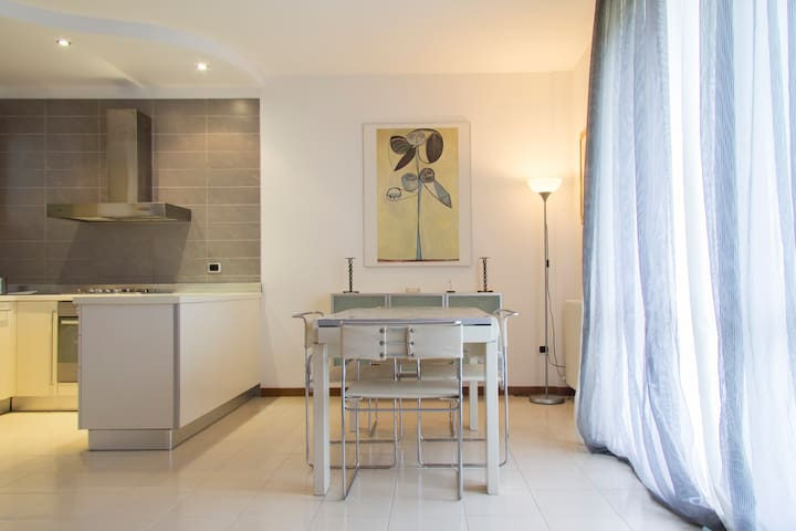 Stunning apartment with  sea view - Riccione - Flat