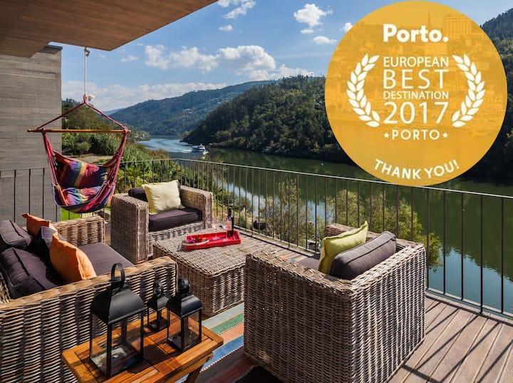*Vila DouroSPA Piscina-acesso privado rio Douro*