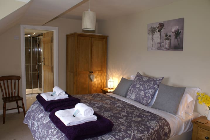 King size room with ensuite close to city centre. - Oxford - Bed & Breakfast
