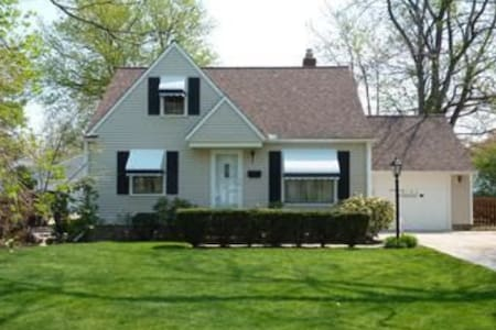 RNC - Close to Downtown Cleveland - Willoughby - Ház