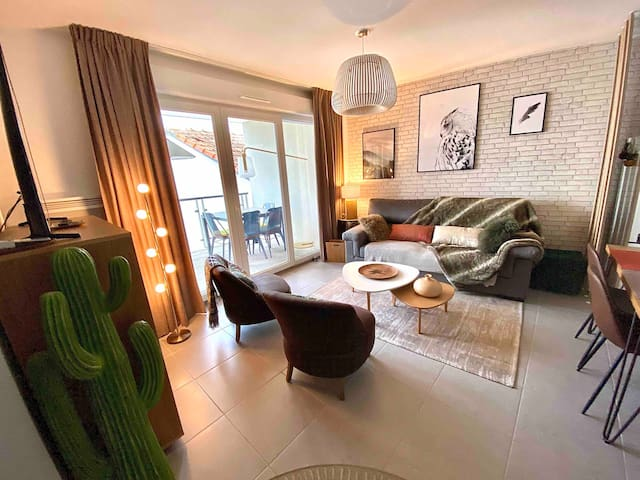 APPARTEMENT COSY FACE REMPARTS CLIM WIFI PARKING
