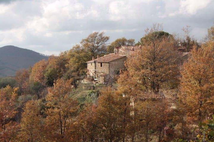 Casale su una Collina Toscana - Montebuono Appalto - House