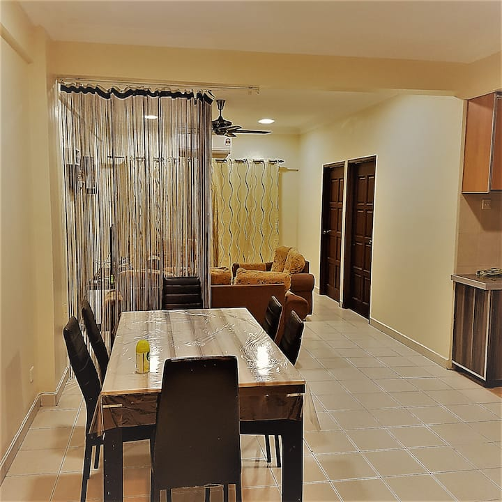 butterworth apartment homestay