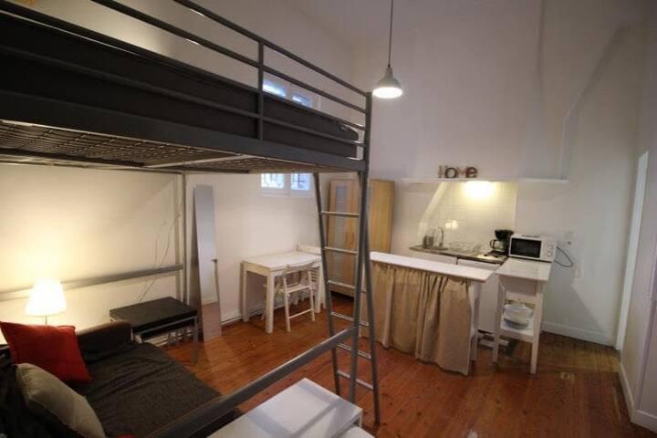 Studio 20 m² idéalement situé à Bordeaux