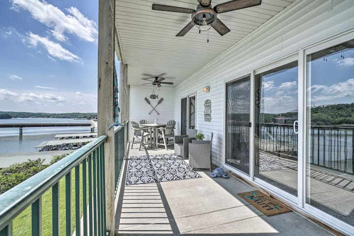 NEW! Lakefront Camdenton Condo w/Deck, Shared Pool