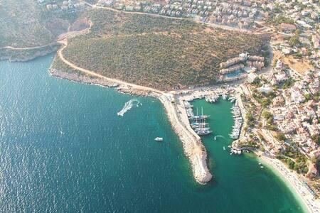Kalkan Çarşıda Plaja 50m Kahvaltılı Muhteşem Tatil - Kaş - 家庭式旅館