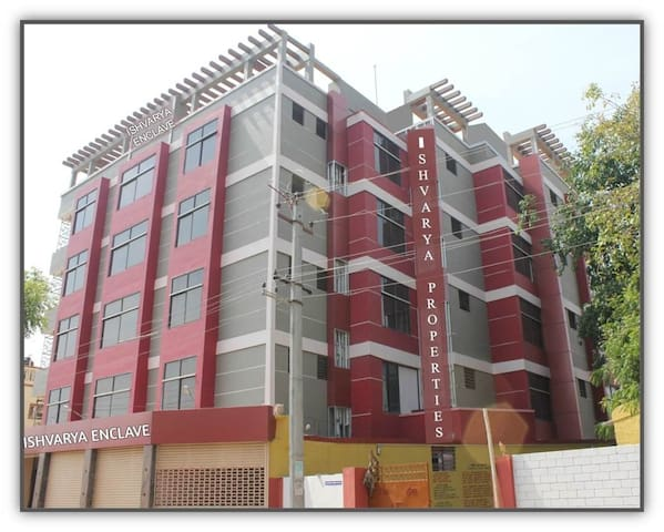 AISHVARYA RESIDENCY , SINGLE BED  AC ROOM - Coimbatore - Bed & Breakfast