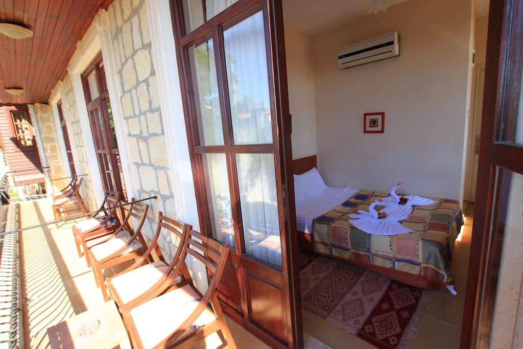 oda ve balkon