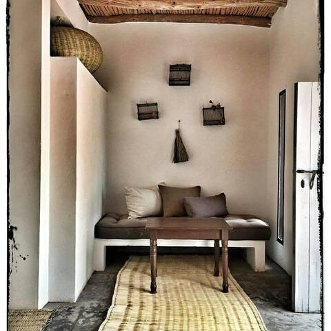 Chambres dans maison-piscine-Essaouira