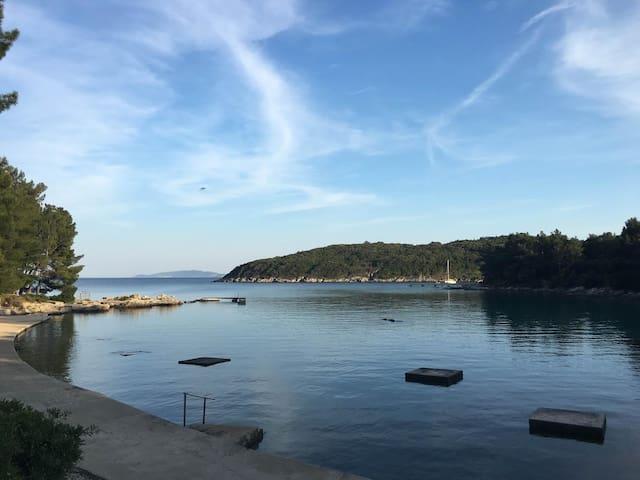Great family retreat in Bučanje, 50m to the sea - Nerezine - Apartment