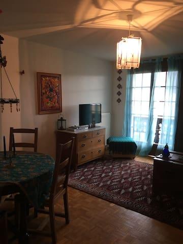 Joli appartement, vue magnifique - Leysin - Apartemen