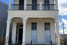Apartment block off St. Charles