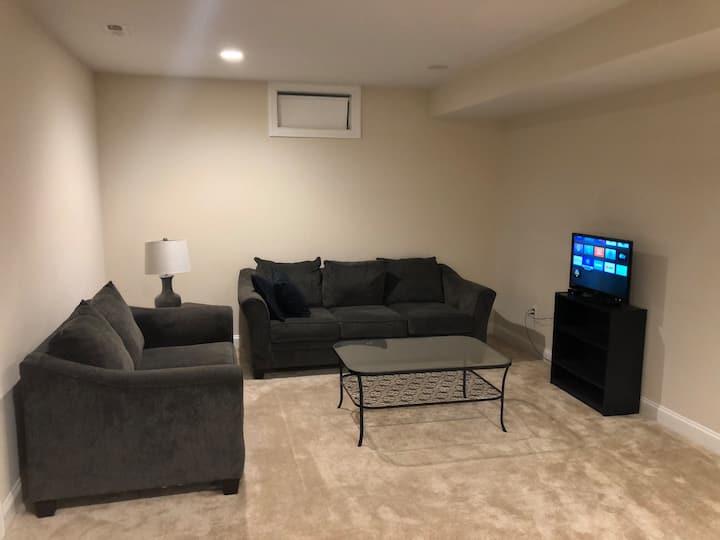 Entire Basement ( Newly built Home)