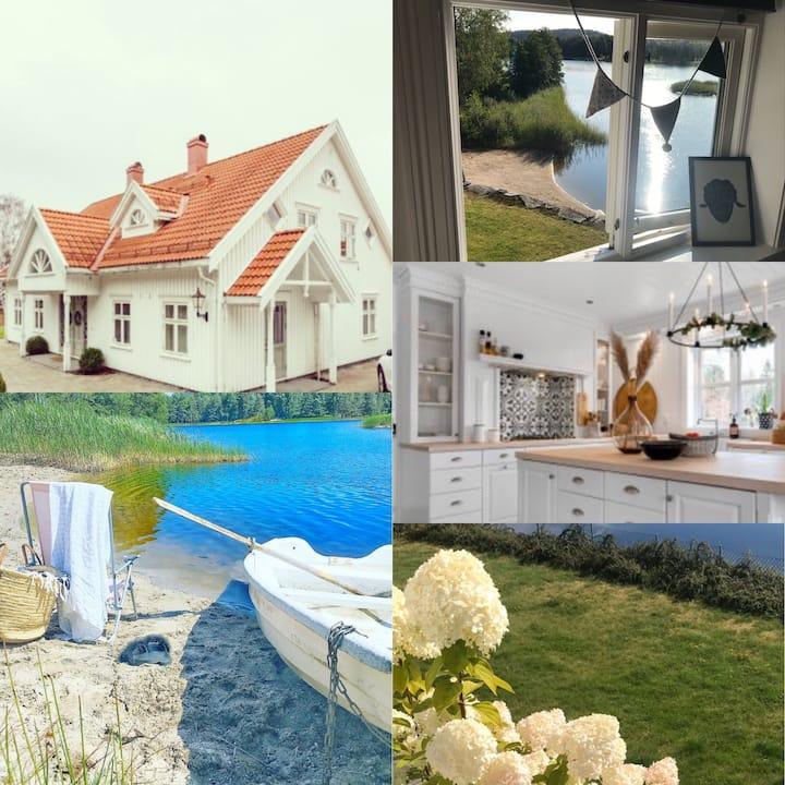 Hus ved vannet til leie under Arendalsuka 2020