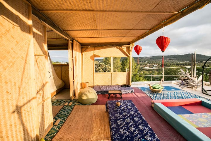 Bungalow on the roof in chill villa - Sant Rafel - Hus