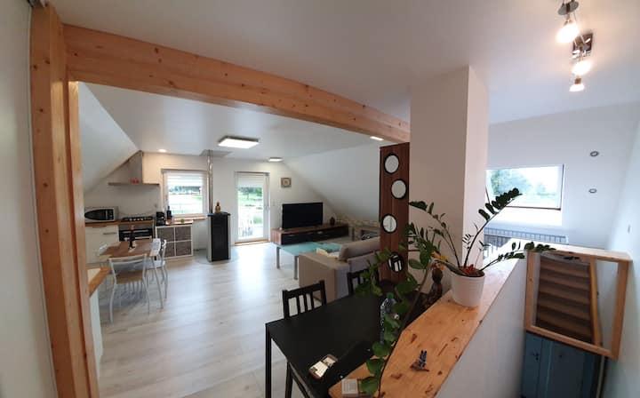 Bel appartement neuf avec terrasse proche Colmar