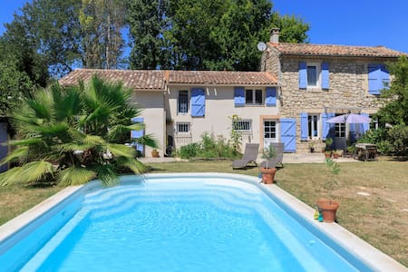 Private floor w/ensuite in large house in Luberon - Mallemort