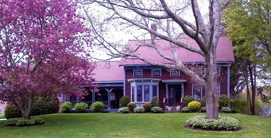 Historic Whaling Captain's home - Fairhaven - Bed & Breakfast