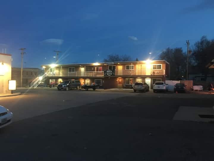 Motel, fly shop, river shuttles, river trips