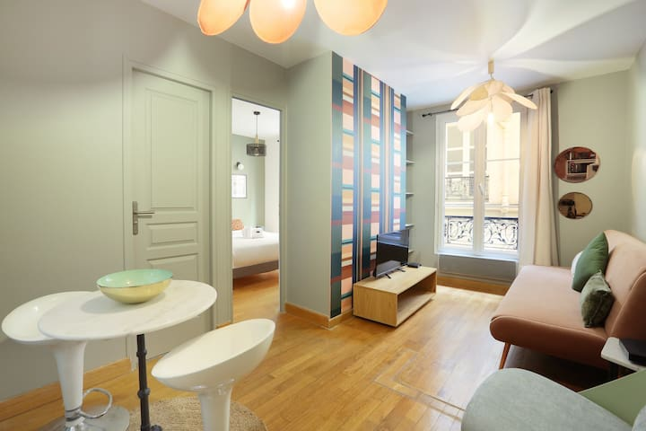 Sublime et neuf appartement Haussmann Opéra