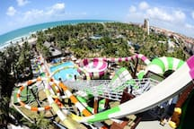 Beach Park Aqua Resort - 6 minutes driving (less than 2km from the apartment)