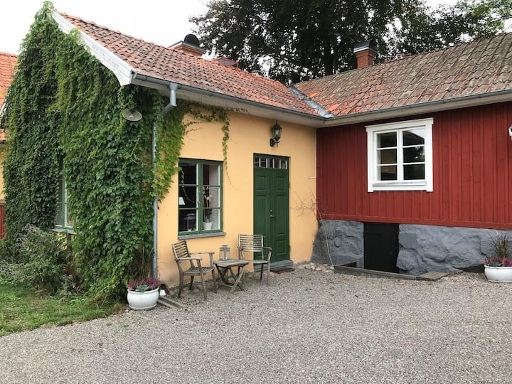 House from 1850 located in historic Sigtuna
