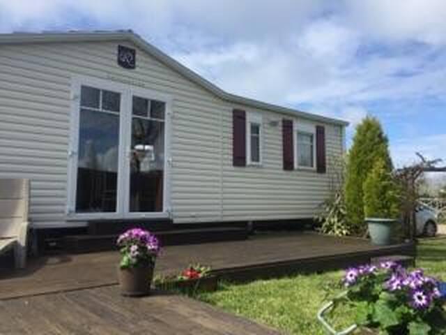 Mobil'home Normandie/HONFLEUR avec parc aquatique