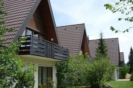 Home with sun terrace and private entry in holiday complex in S. Black Forest