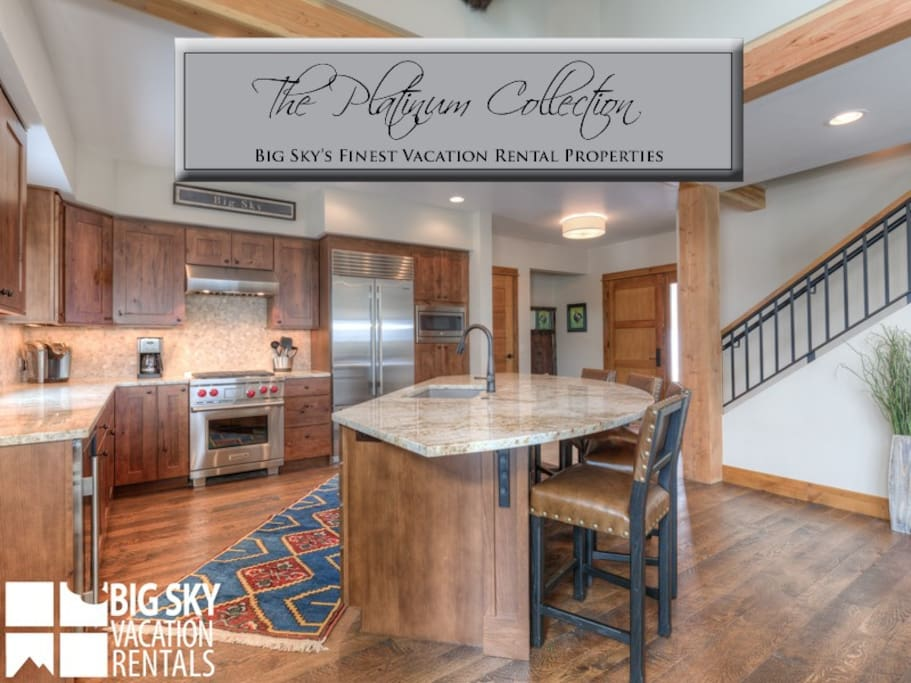 Big Sky Resort, Homestead Chalet 5, Kitchen, 1