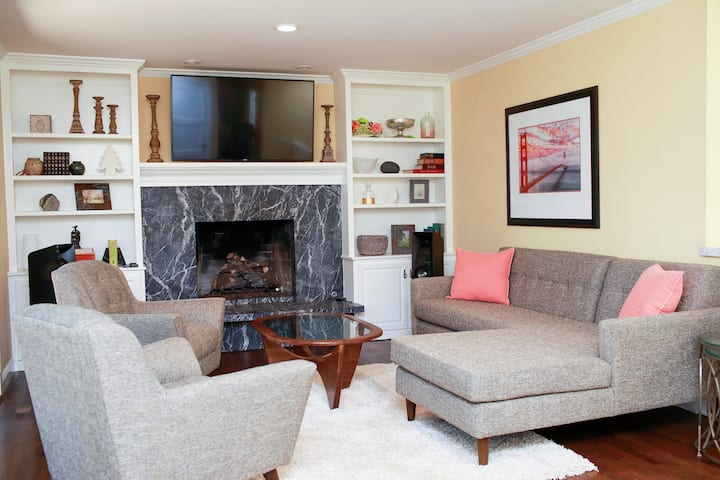 Peaceful retreat amidst your Bay Area tour!
