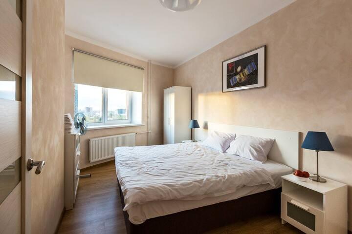 2-комнатная квартира с прекрасным видом