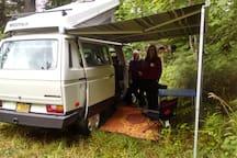 Yurt: Swift @ Zigzag Mountain Farm