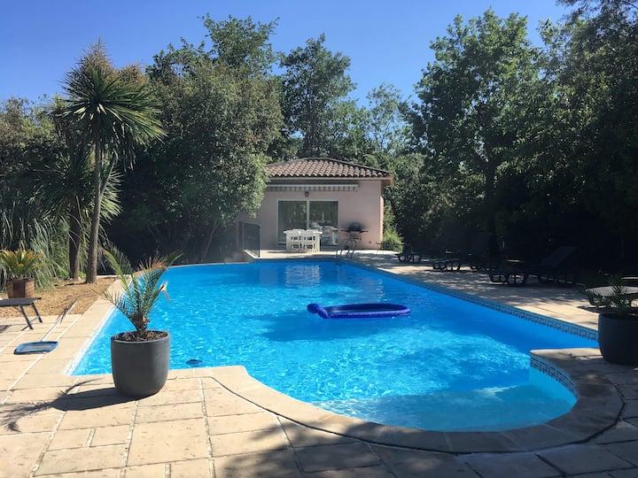 Maison de 50m2 avec piscine 6x12