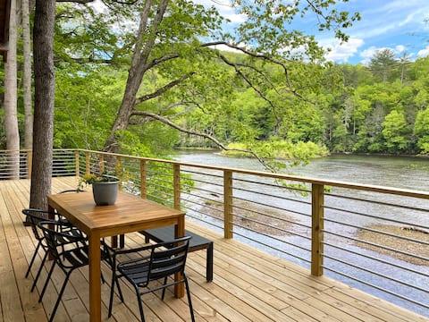 Wild & Wonderful Camp Chestnut (River Cabin)