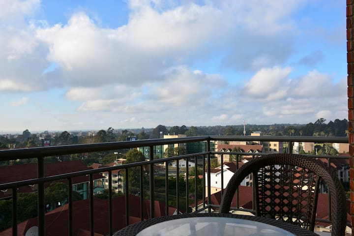 Stunning View 1 Bed Penthouse, Riara Road Kilimani
