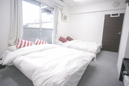New&Cosy Condo with 2rooms,1mins to JR station! - Shinjuku-ku - Huoneisto