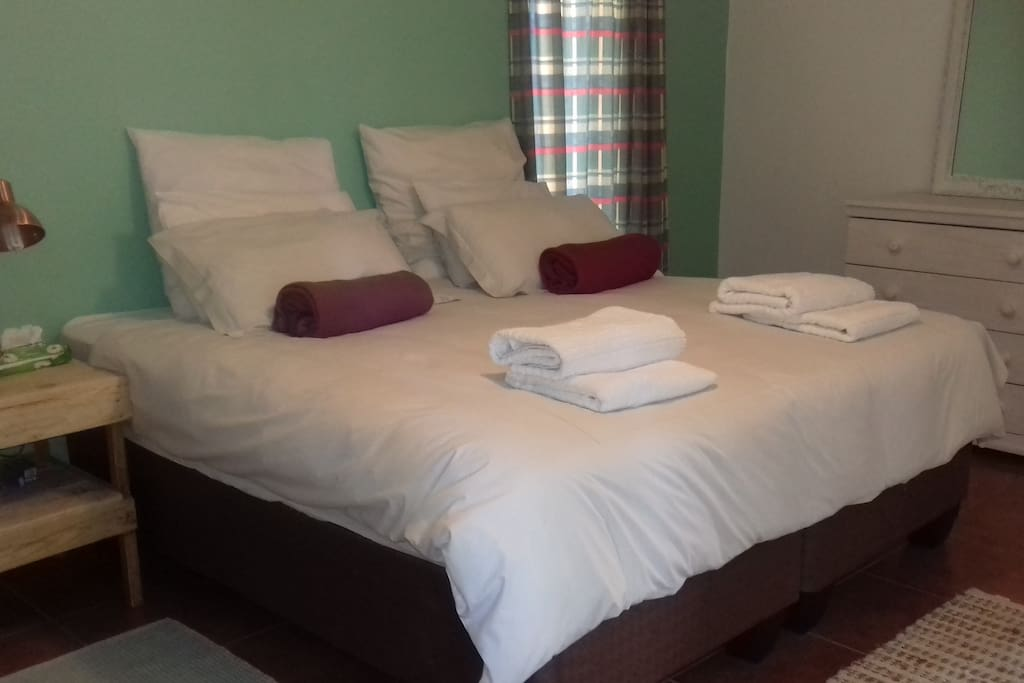 from 2 single beds to a very comfortable double bed