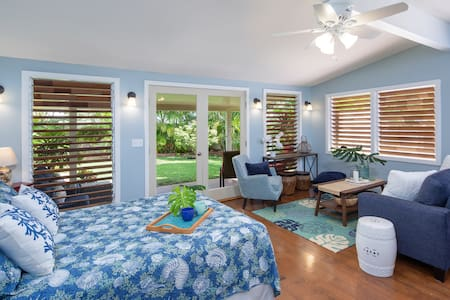 Kailua Beach – Private Garden Studio/30 Days+ Only