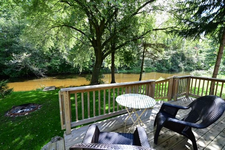 Getaway Cottage on Chippewa River 4:20 Friendly
