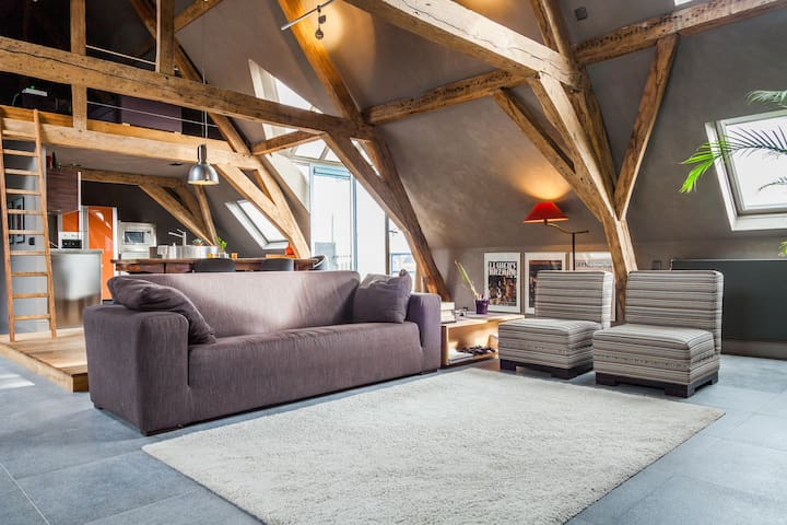 Spacious, bright loft in the centre of Mechelen - Mechelen - Loft