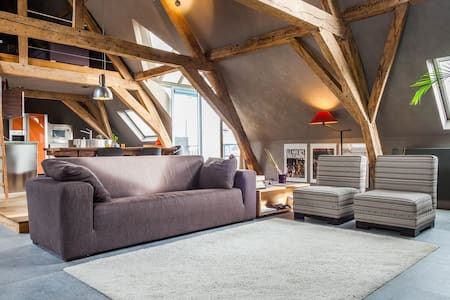Spacious, bright loft in the centre of Mechelen - Malines