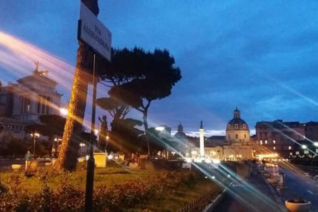 "Surrounding "" Foro Romano sunset"""