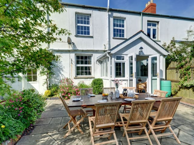 Holiday home with beautiful terrace and garden, in a peaceful countryside setting