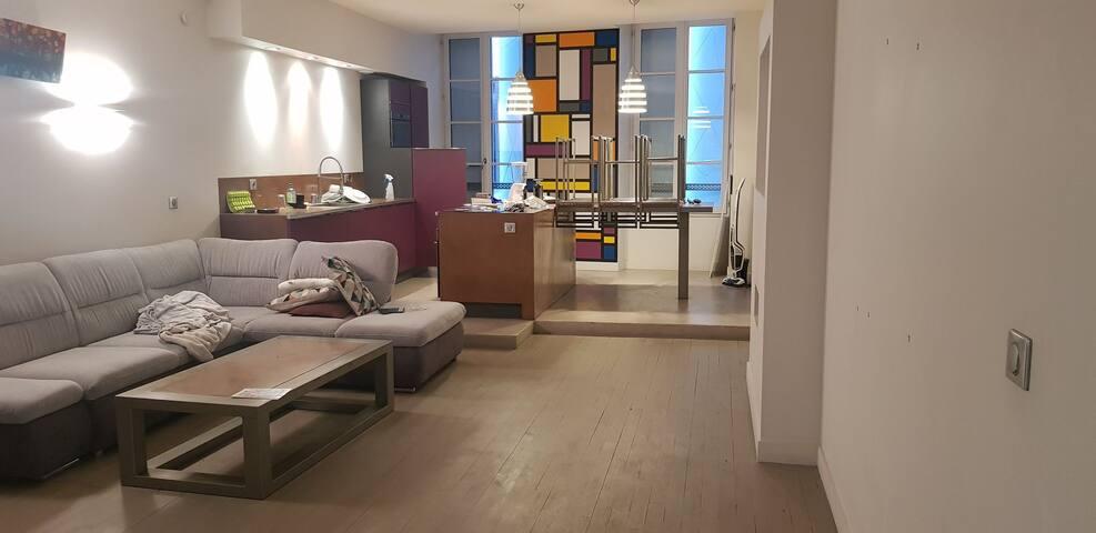 Appartement deux chambres 83m2